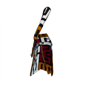 Side African Print Mini Bag